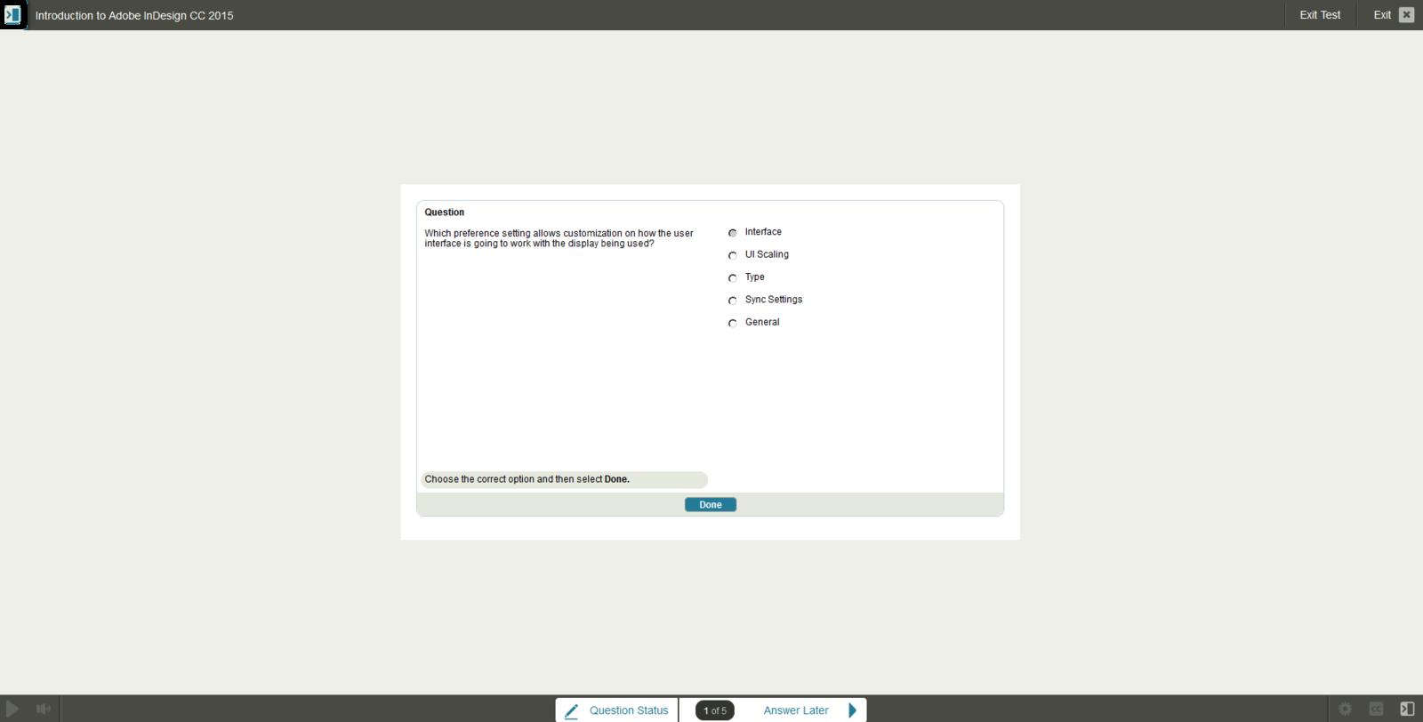 Adobe Adobe InDesign CC 2015 E-Learning Kurs