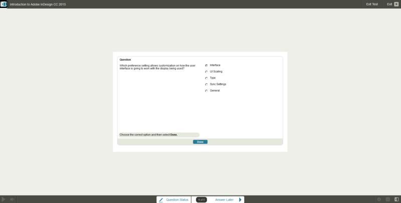 Adobe InDesign CC 2015 E-Learning Kurs