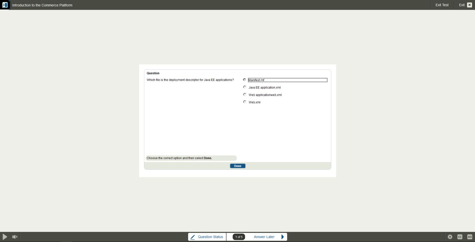 Oracle Corporation Oracle Web Commerce ATG E-Learning Kurs