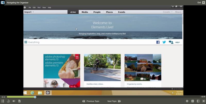 Adobe Premiere Elements 13 E-Learning Kurs