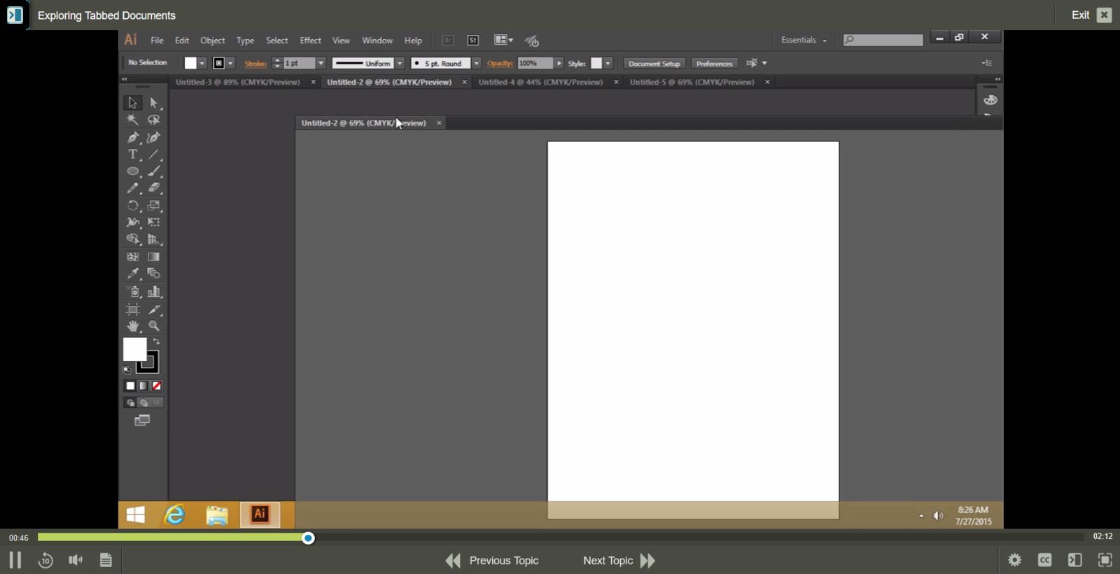 Adobe Adobe Illustrator CC E-Learning Kurs
