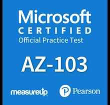 Microsoft Azure Administrator AZ-103 Proefexamen