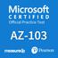 Microsoft Azure Microsoft Azure Administrator AZ-103 Proefexamen