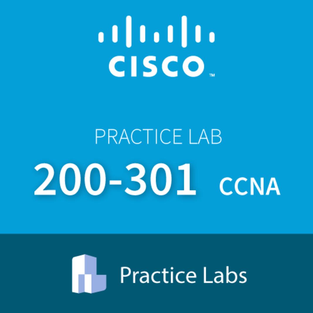 Cisco 200-301 Cisco Certified Network Associate CCNA Live Labs