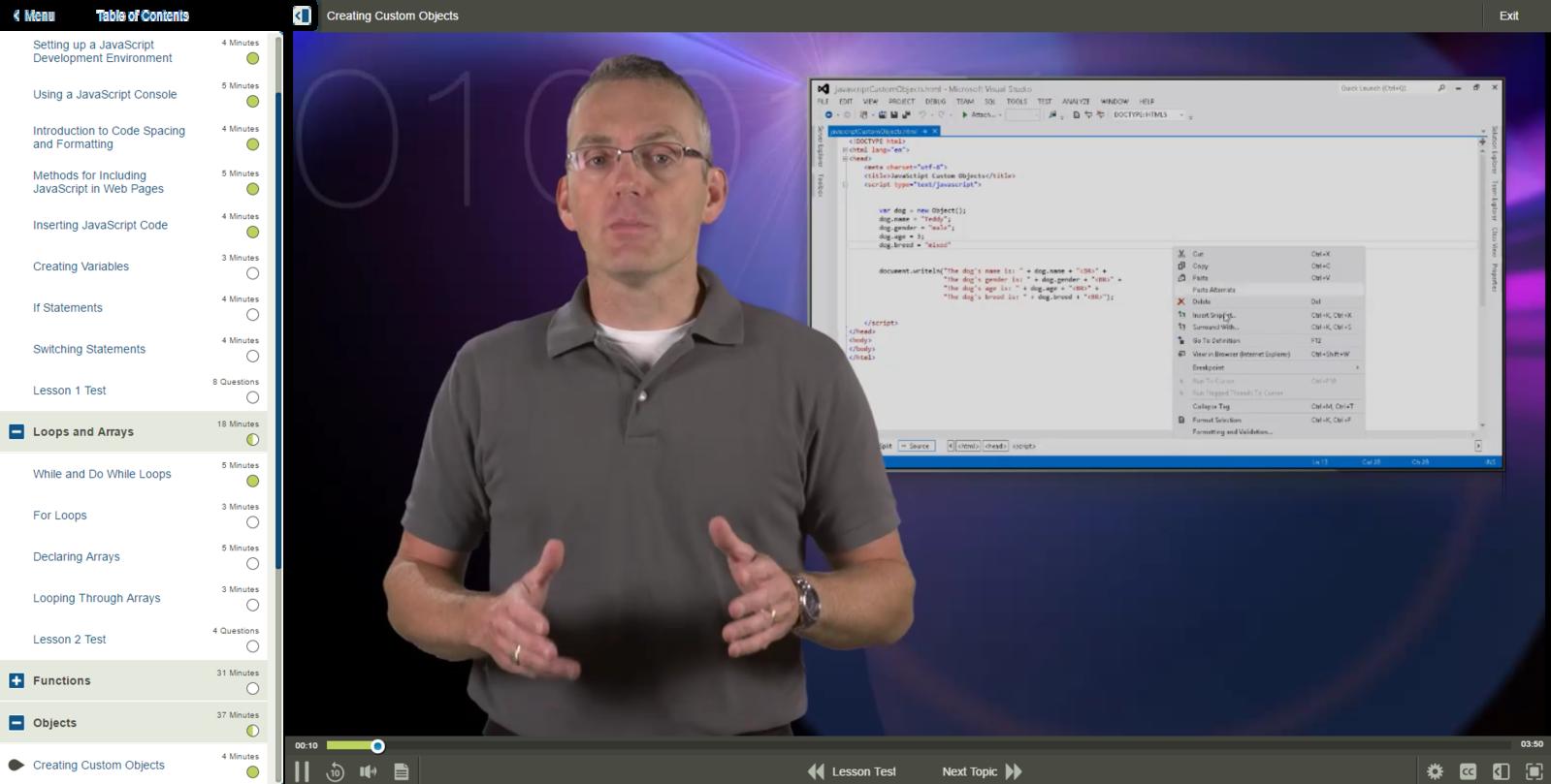 JavaScript JavaScript Essentials E-Learning Kurs