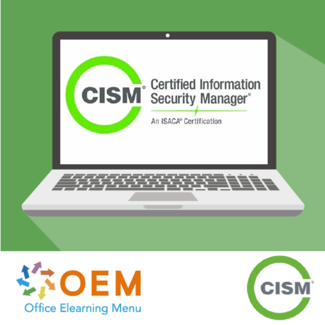CISM Certified Information Security Manager CISM 2020 E-Learning Kurs
