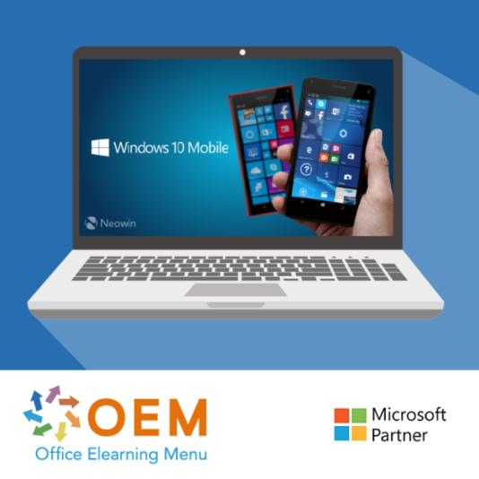 Microsoft Windows 10 Mobile E-Learning Kurs