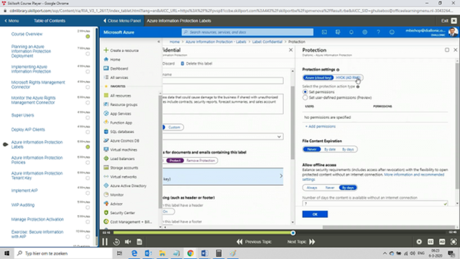 Microsoft Azure Enterprise Administrator Expert MS-100 + MS-101 OEM Certkit