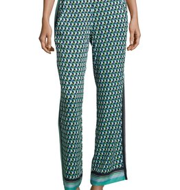 Betty Barclay Broek met elastiek in de taille in aqua