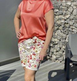 Gardeur Bloemen jeansshort Ivy