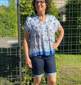 Angels jeans Bermuda tu donker jeans