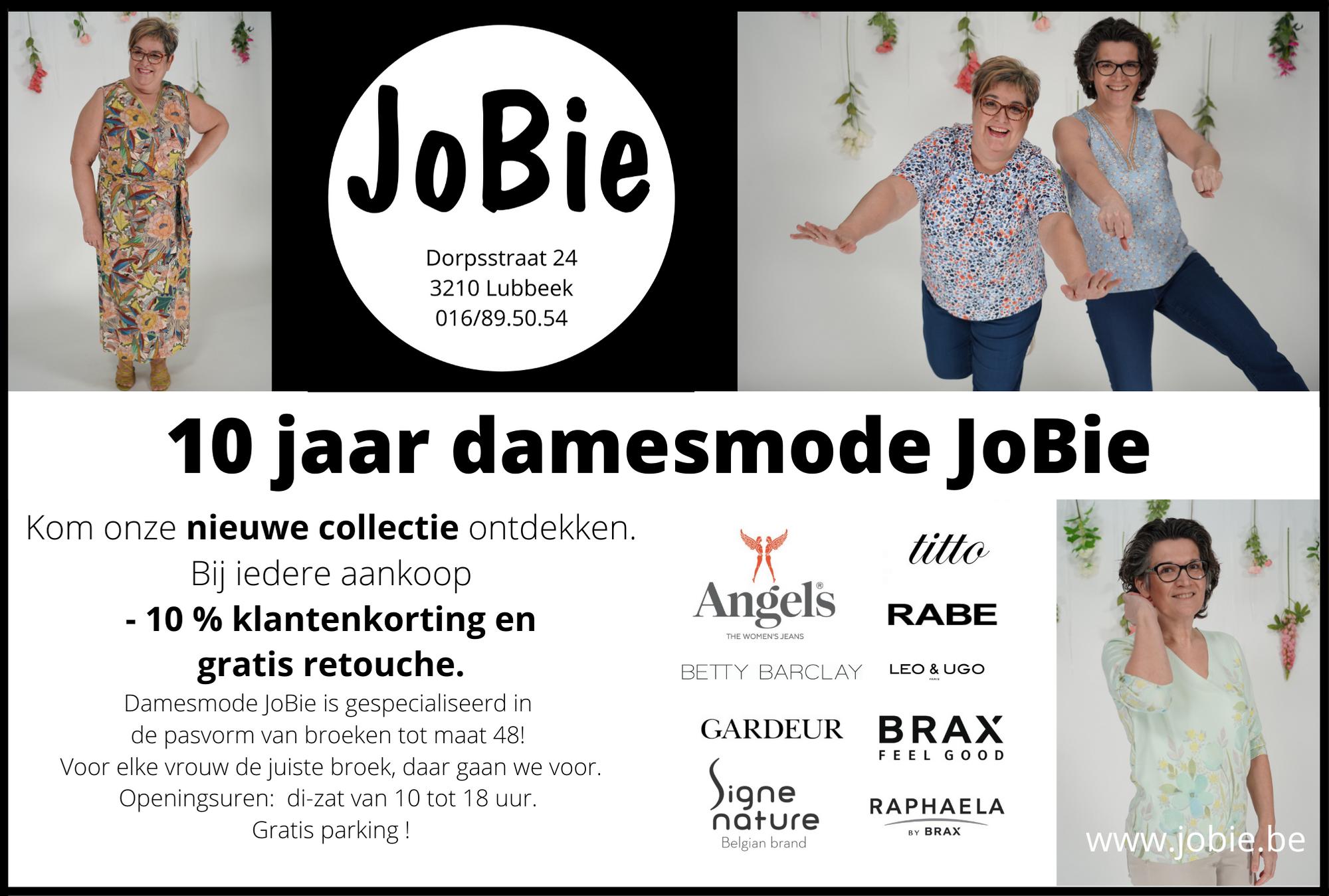 JoBie damesmode viert feest 10 jaar @lubbeek