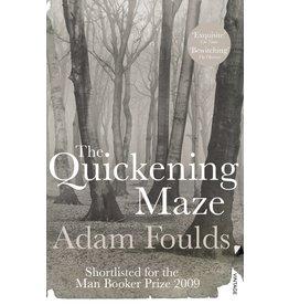 Adam Foulds The Quickening Maze