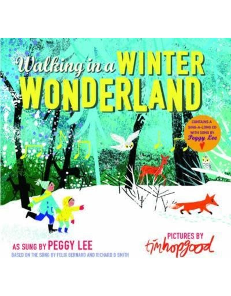 Walking In Winter Wonderland Book & CD