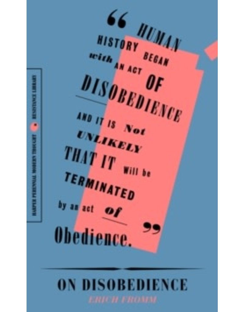 On Disobedience