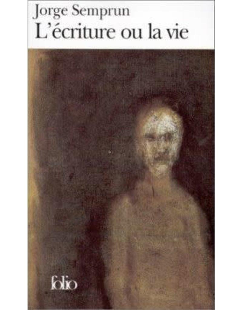 L'écriture ou la vie