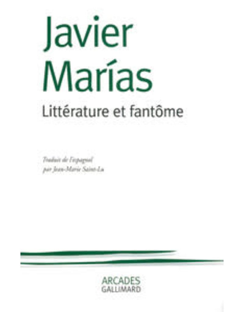 MARIAS Javier Littérature et fantôme
