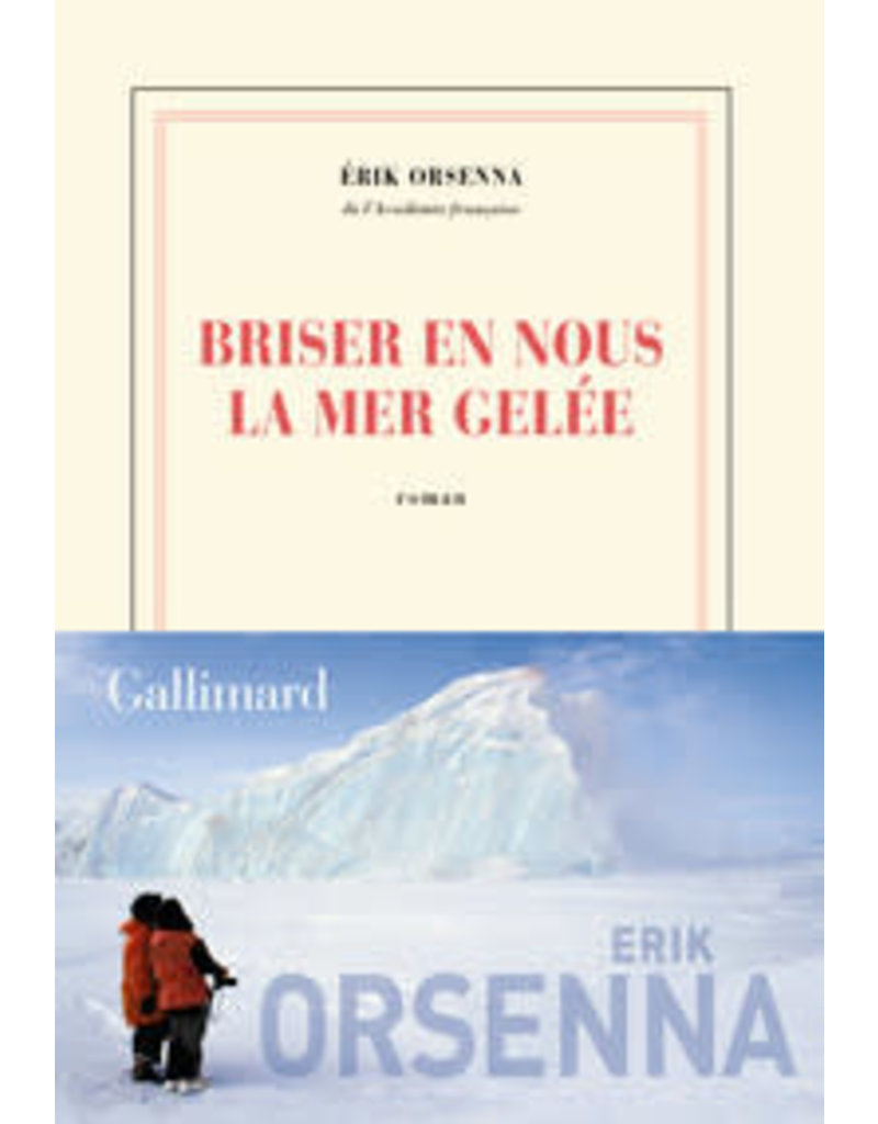 ORSENNA Erik Briser en nous la mer gelée