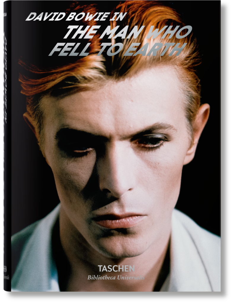 "David Bowie in ""The man who fell to Earth"""