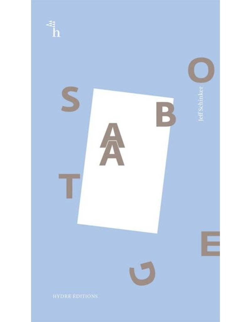 SCHINKER Jeff Sabotage (LB-DE-FR-EN)