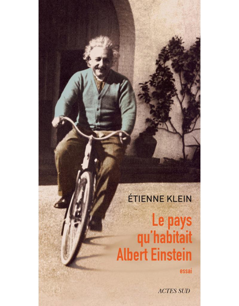 Le pays qu' habitait Albert Einstein (grand format)