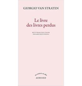 VAN STRATEN Giorgio Le livre des livres perdus