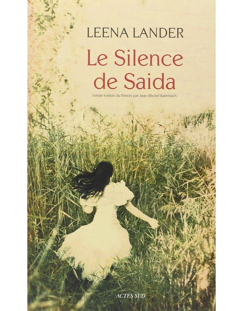 Le silence de Saida