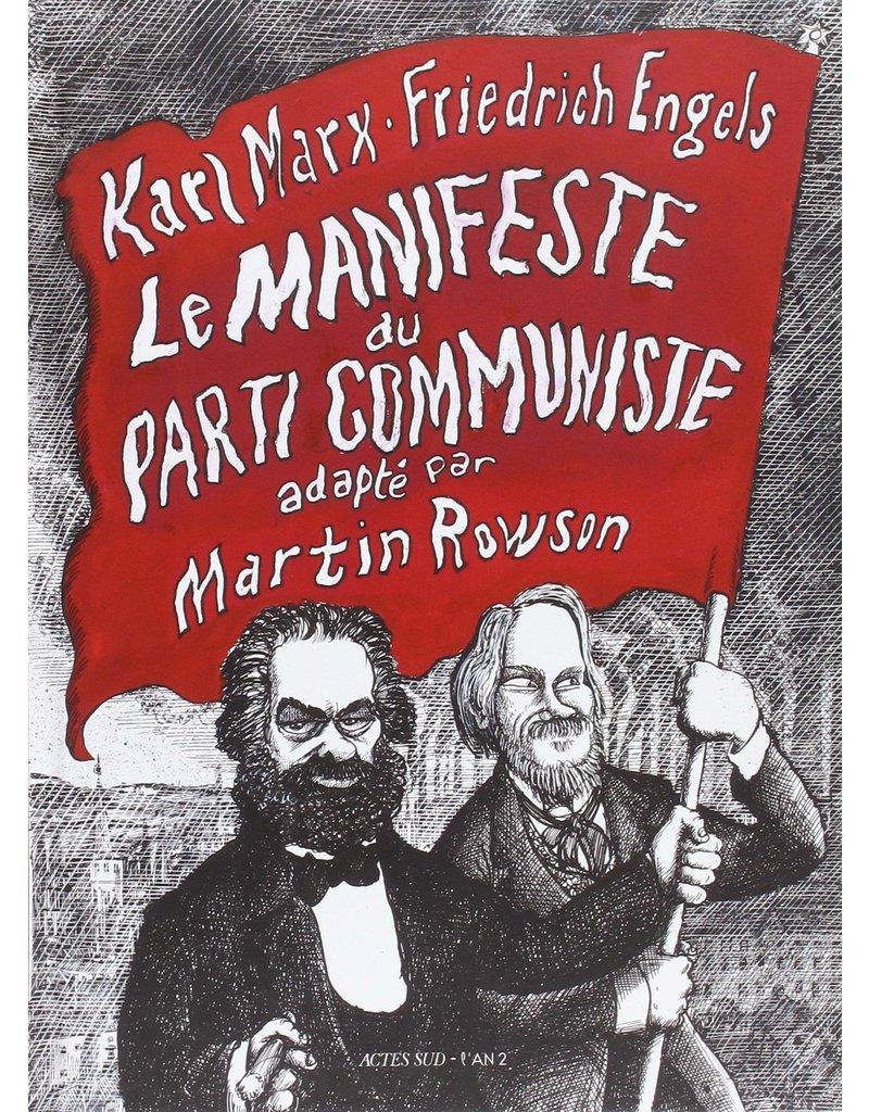 Le manifeste du parti communiste (BD)