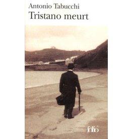 TABUCCHI Antonio Tristano meurt