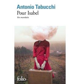 TABUCCHI Antonio Pour Isabel