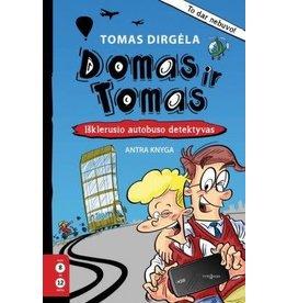 Domas ir Tomas - Isklerusio autobuso detektyvas, antra knyga