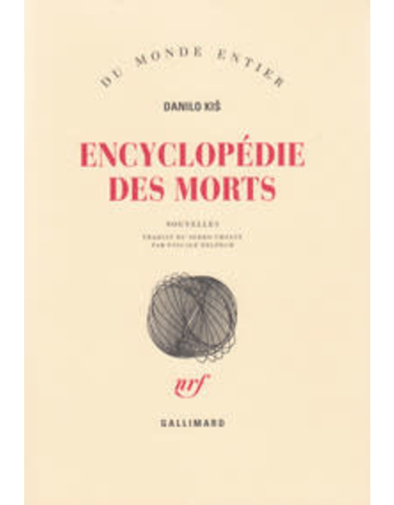 KIS Danilo Encyclopédie des morts