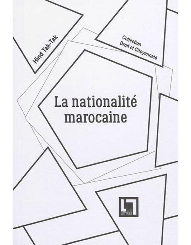 La nationalité marocaine