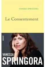 SPRINGORA Vanessa Le consentement
