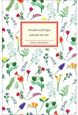 """""""Freuden und Tage"""" - Kalender für 2021"""