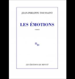 TOUSSAINT Jean-Philippe Les émotions