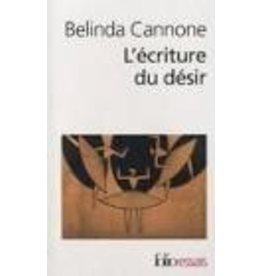 CANNONE Belinda L'écriture du désir