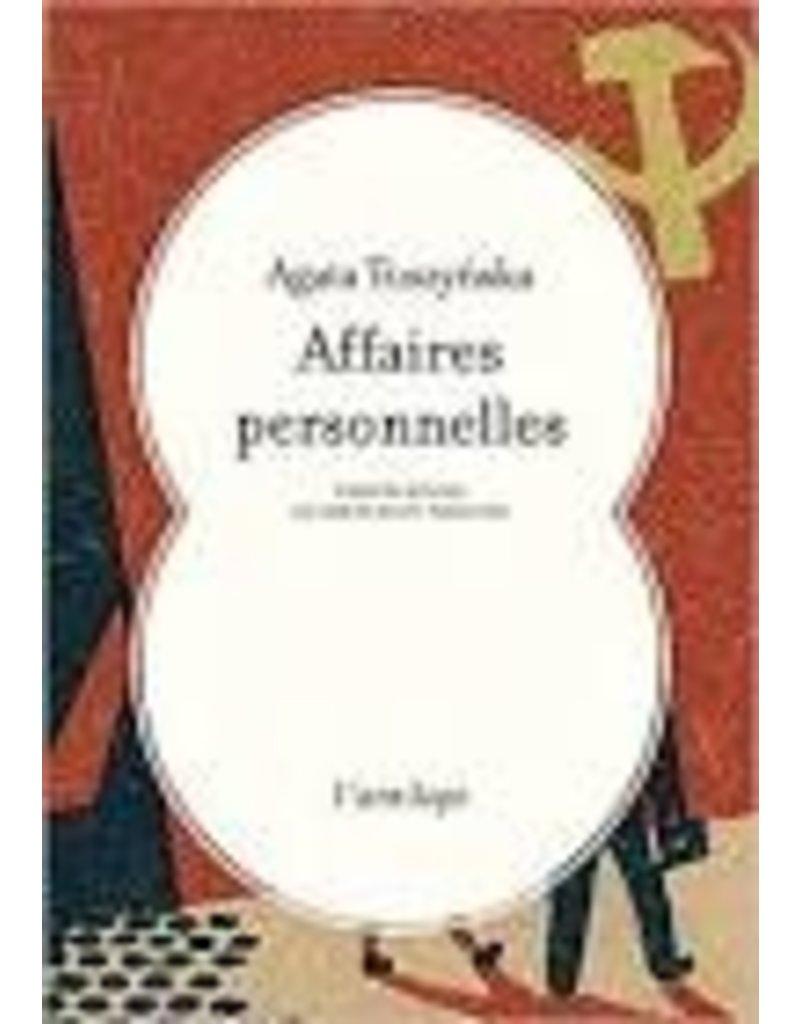 JANNES-KALINOWSKI Isabelle (tr.) Affaires personnelles