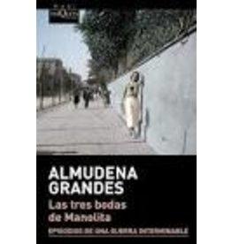 GRANDES Almudena Las tres bodas de Manolita (bolsillo)