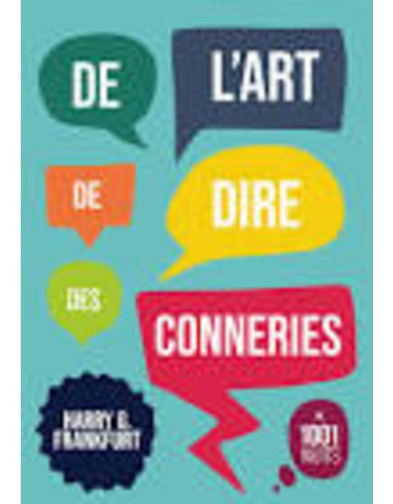 SENECAL Didier (tr.) De l'art de dire des conneries