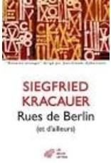 BOUTOUT Jean-François (tr.) Rues de Berlin et d'ailleurs
