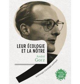 GORZ André Leur écologie et la nôtre
