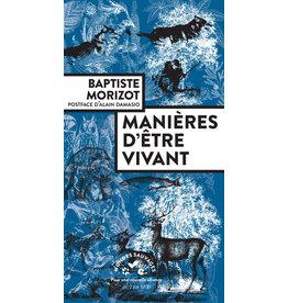 MORIZOT Baptiste Manières d'être vivant