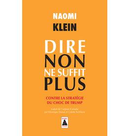 Klein Naomi Dire non ne suffit plus