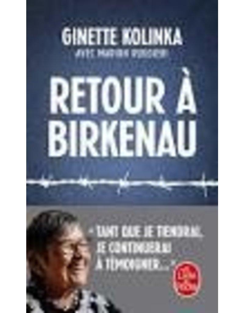 Retour à Birkenau (poche)