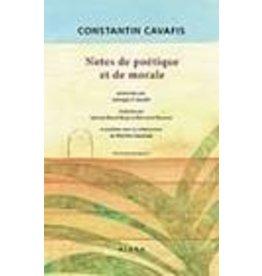 Notes de poétique et de morale (bilingue)