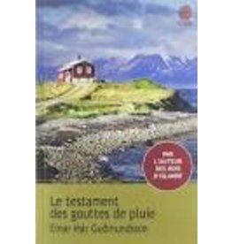 BOURY Eric (tr.) Le testament des gouttes de pluie