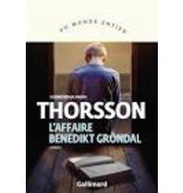 BOURY Eric (tr.) L'Affaire Benedikt Gröndal