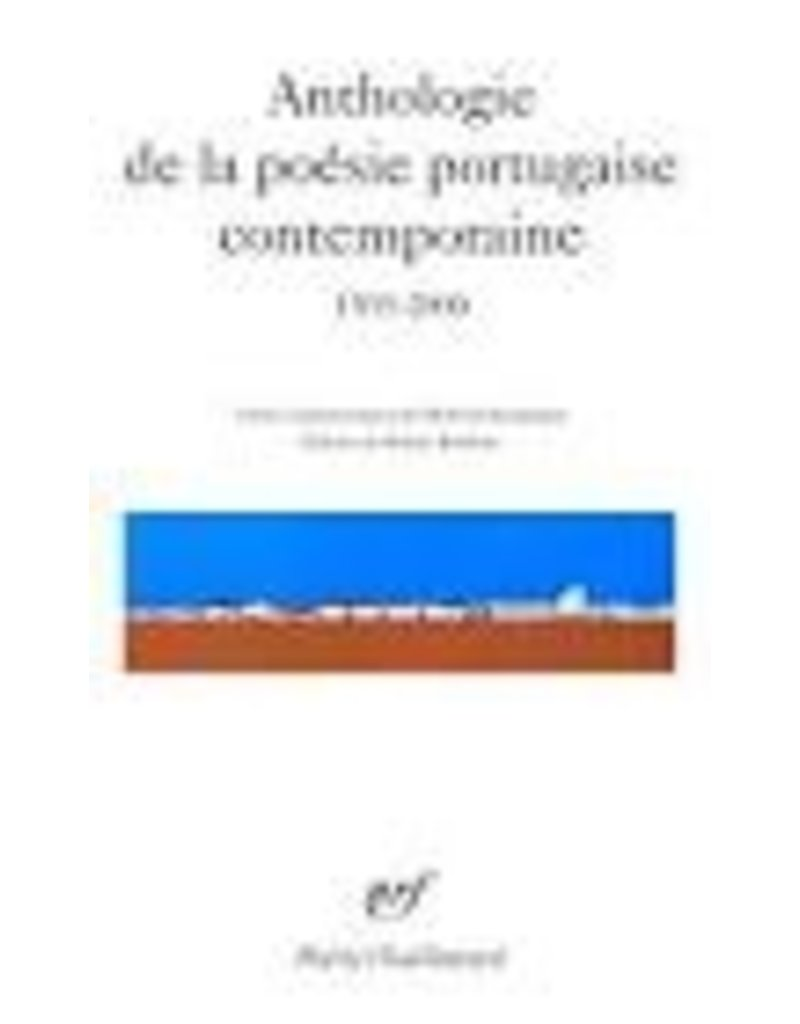 Anthologie de la poésie portugaise contemporaine