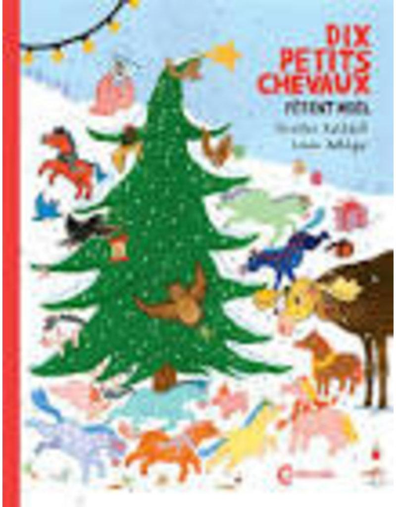 Dix petits chevaux fêtent Noël